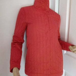 Lacoste red jacket